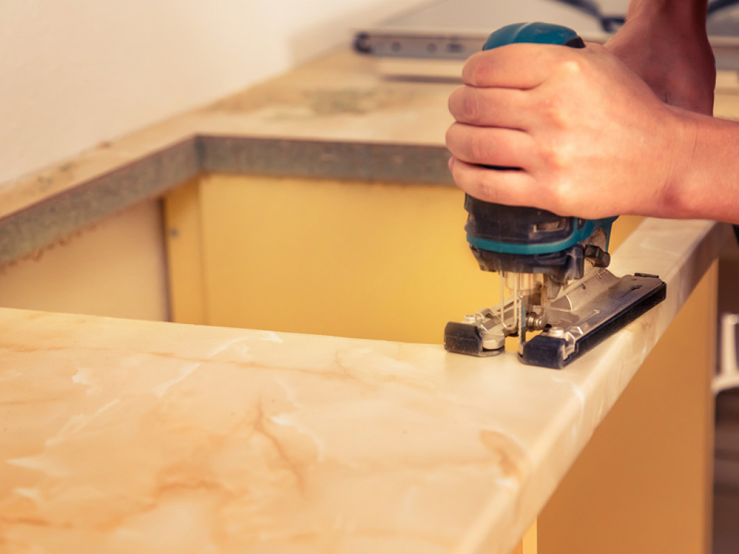 Hire a Professional to Install Your New Countertops